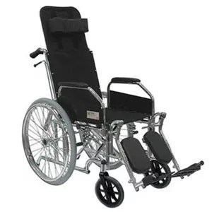 silla de ruedas con respaldo alto