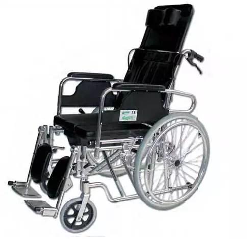 Silla de ruedas de aluminio reclinable precio barato - Catalogo de sillas de ruedas ...
