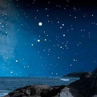 current night sky