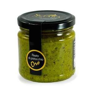 pesto di pistacchio oro in olio extravergine d'oliva