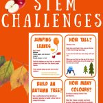 Autumn Stem Challenges Science Experiments For Kids