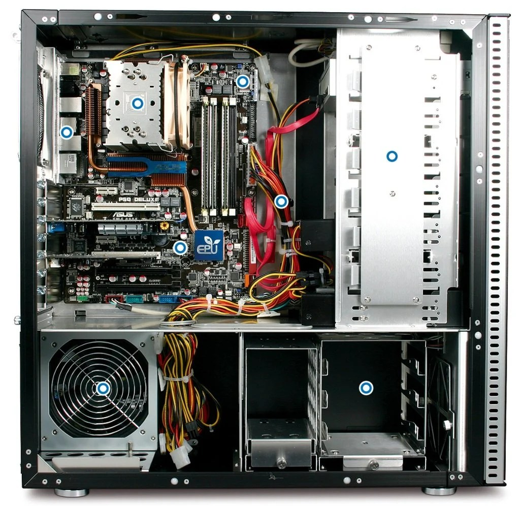 What S Inside Your Computer Cabinet Cpu Box