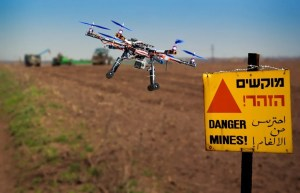 Can Drones Detect Landmines Buried Beneath The Ground