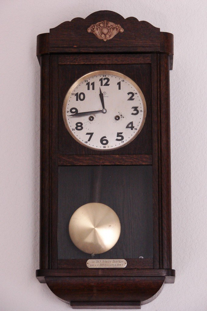 Gustav Becker Mantel Clock 1915