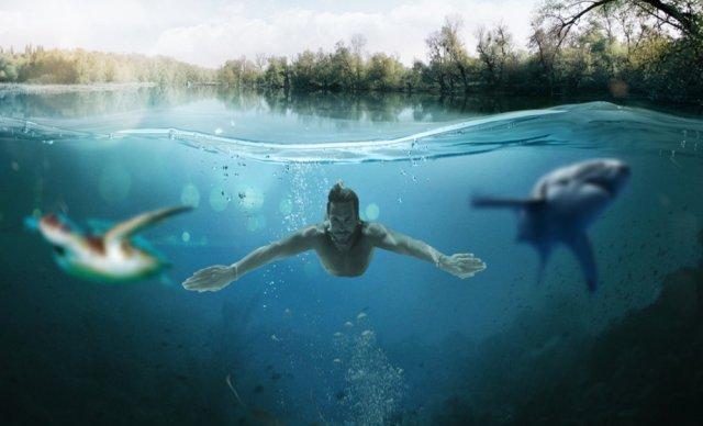 Por que é tão difícil de ver debaixo d'água?