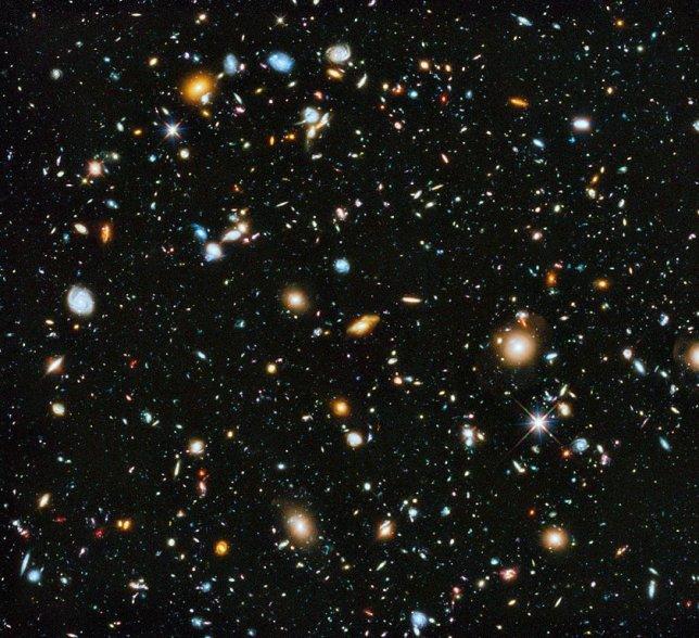 Estrelas do espaço Hubble Ultra Deep Field