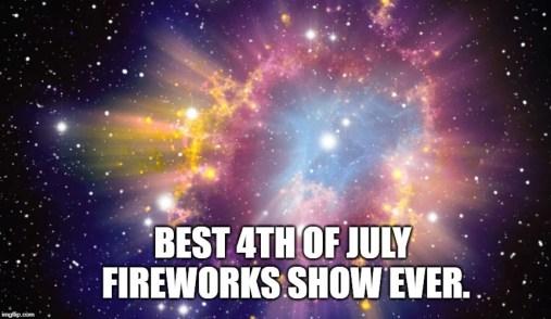 Melhor 4 de julho fogos de artifício mostram sempre.  meme
