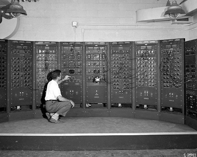 Máquina de computação analógica