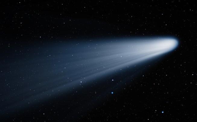 Cometa no espaço Elementos desta imagem fornecidos pela NASA (muratart) s