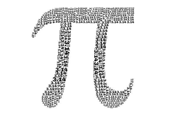 símbolo matemático de torta