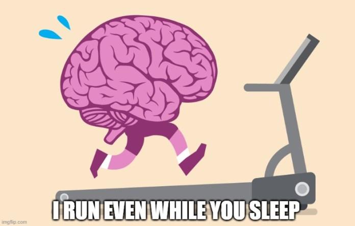 I RUN EVEN WHILE YOU SLEEP