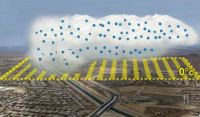 Unclouding the Behavior of Lingering Clouds Caused By Pollution