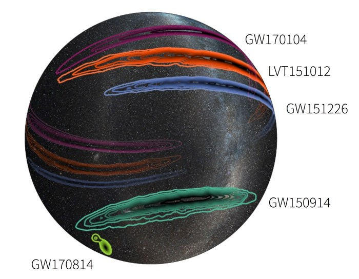 O1 O2 skymaps white GW170814