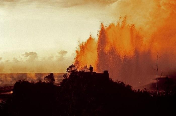 huge lava fountain october 20