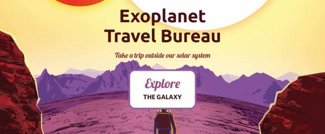 pagina iniziale dell'exoplanet bureau