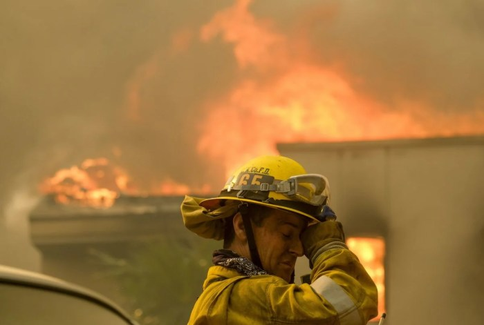 fire season in the western us is now 105 days longer than it was in the 1970s