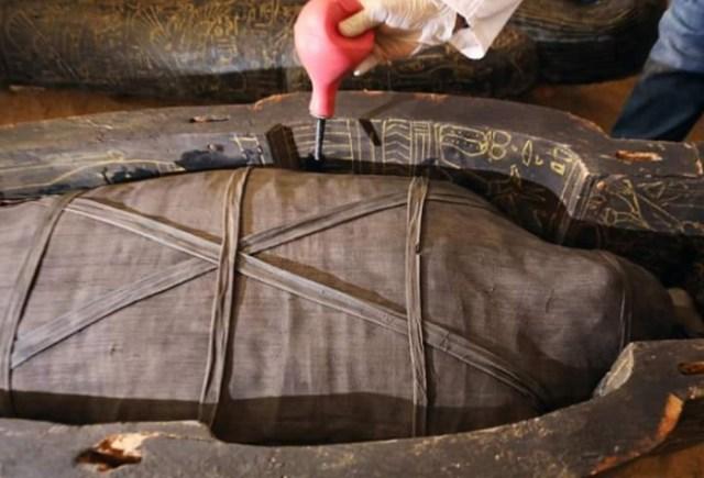 scongelare l'interno del sarcofago dell'inchiostro