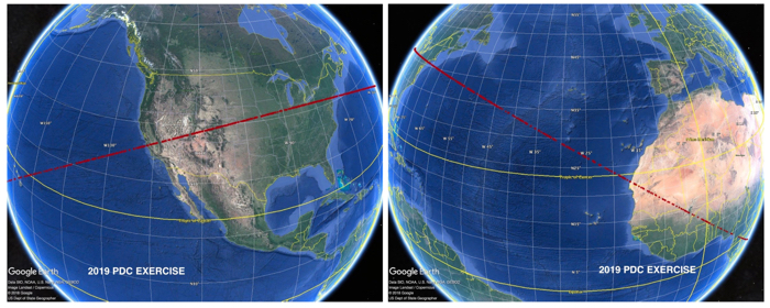016 asteroid strike impact nasa 2