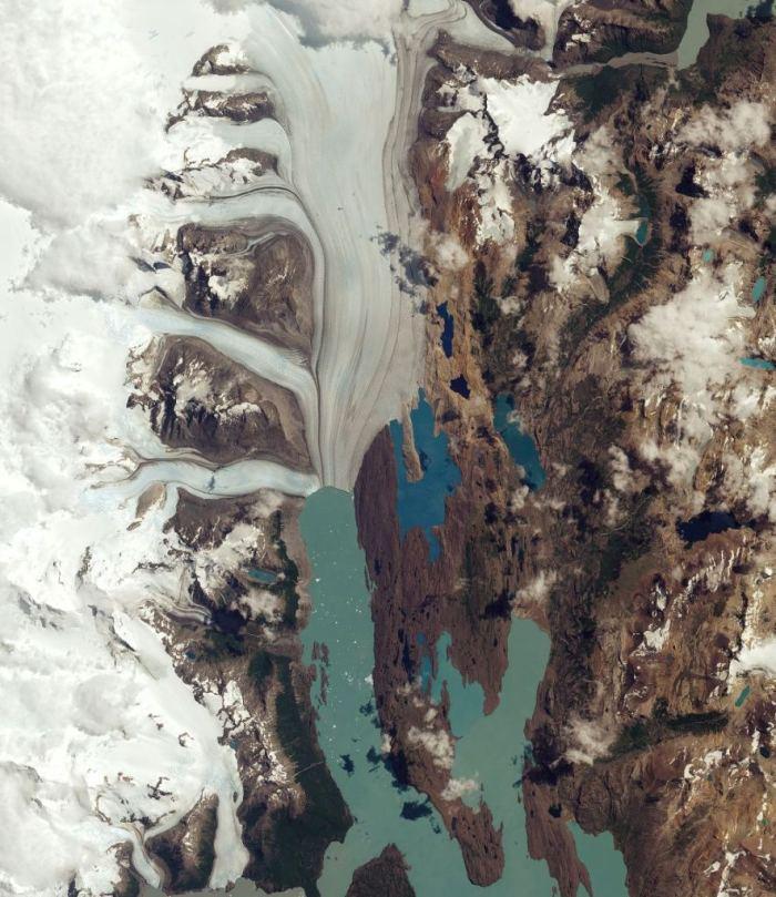 Argentina's Upsala Glacier has retreated more than 3km in 15 years (Copernicus Sentinel data (2016)/ESA/CC BY-SA 3.0)