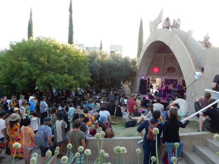 Arcosanti's Form festival in 2016. (Hanne Sue Kirsch)