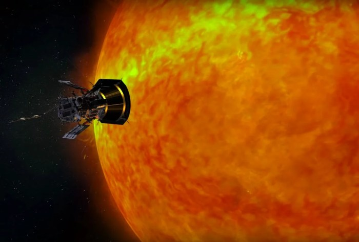 The Parker Solar Probe will get closer to the sun than any other probe before it. (NASA Goddard/Youtube)