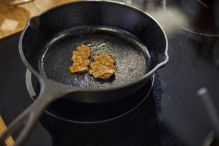 bio printer ISS minute steaks cast iron