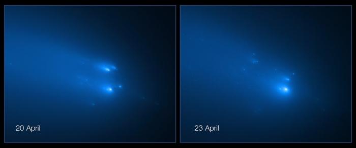 comet chunks