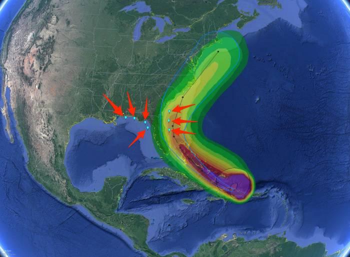 (Google Earth/NOAA/NASA/Business Insider A J)