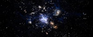 Astronomers Detect Surprisingly Huge Galactic Birthplace in The Early Universe