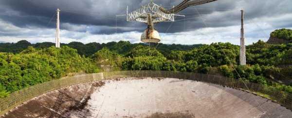 The Iconic Arecibo Telescope in Puerto Rico Is Being ...