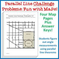 Parallel Lines Map Activity