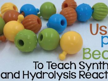 Using Pop Beads to Teach Synthesis and Hydrolysis Reactions