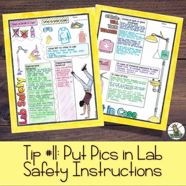 Lab Safety instructions for ELL Science students