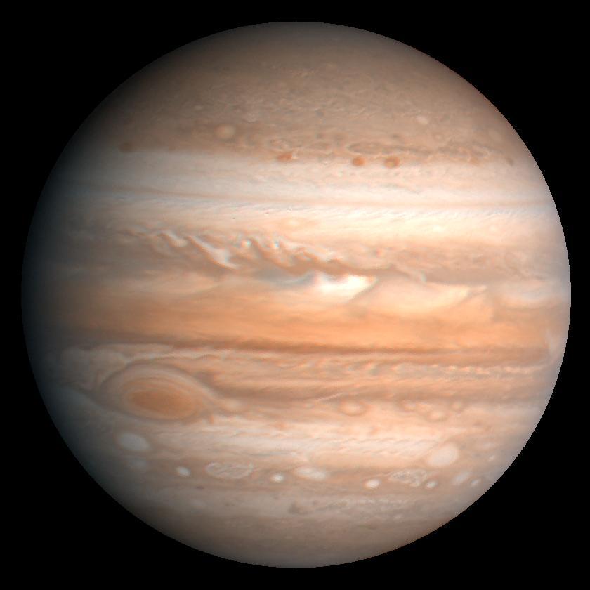 photo de la planète gazeuse jupiter la star de l'été