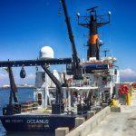R/V Oceanus in San Diego