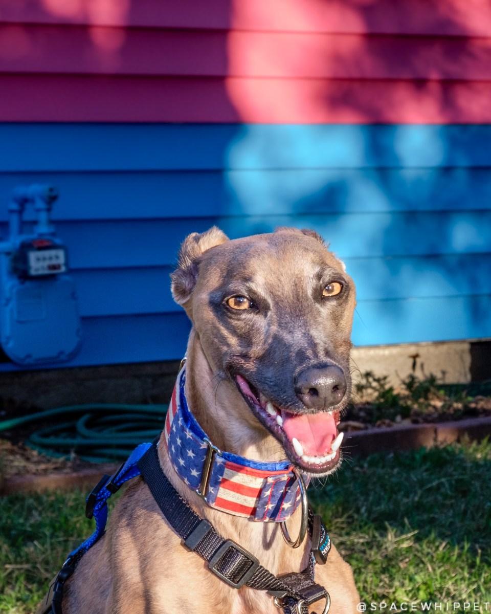 Kuiper smiles in front of the Transgender House in Topeka, KS.