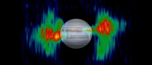 Jupiter radio waves