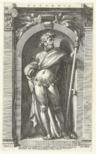 picture of Saturn the roman god of wealth and agriculture