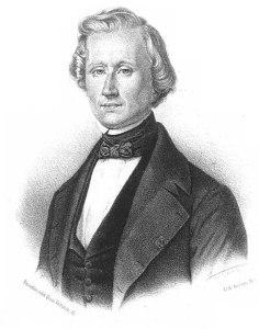 Portrait of Urbain Le Verrier
