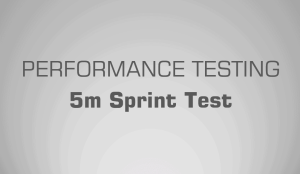 5m Sprint Test - Science for Sport