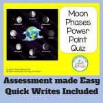 Moon Phases Assessment Made Easy
