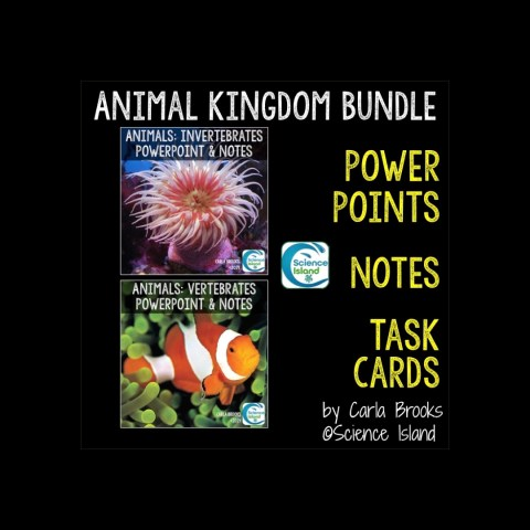 Animal Kingdom PowerPoint and Notes Bundle