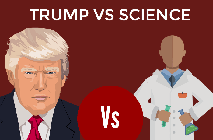 Trump Vs. Science Scientists Rebel Against The Restrictive Policies by US President Trump