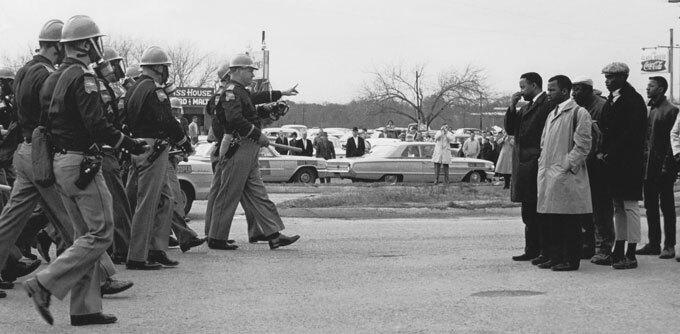 Selma march in 1965