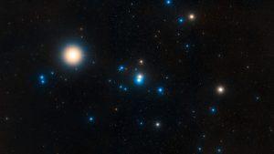 Hyades star cluster