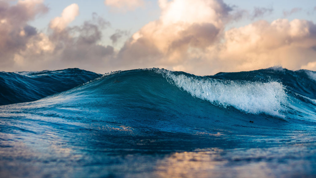 Underwater earthquakes sound waves reveal changes in