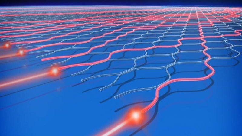 The Chinese quantum computer Jiuzhang uses a photon and channel technique to replicate what is called quantum superposition