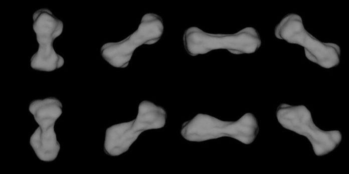 216 Kleopatra asteroid images