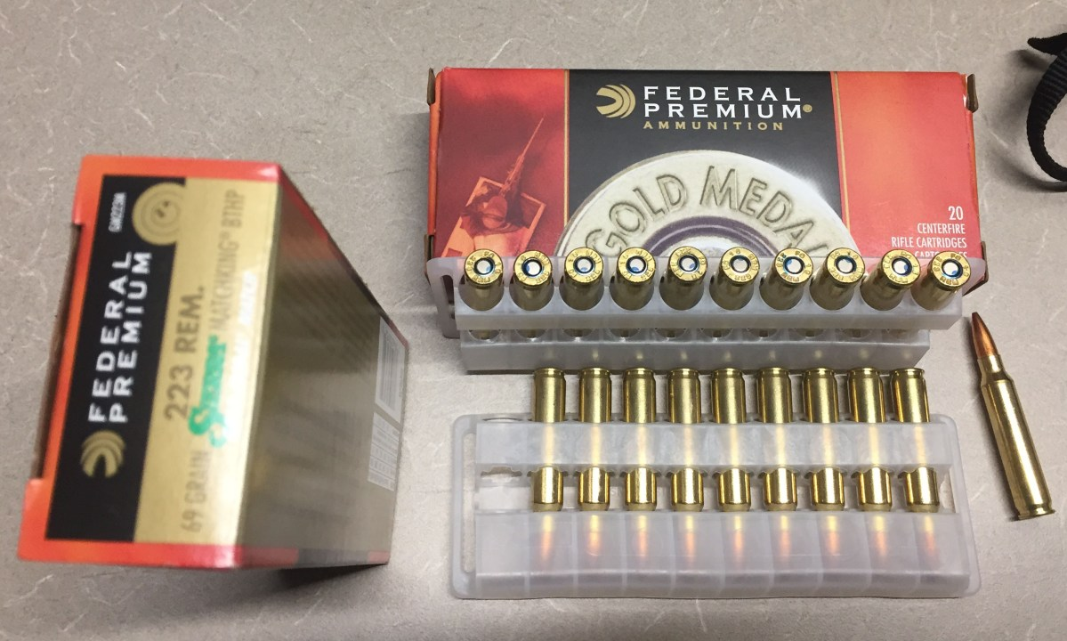 SLW Barrel Shootout – Federal Gold Medal Match 69gr Ammo Performance
