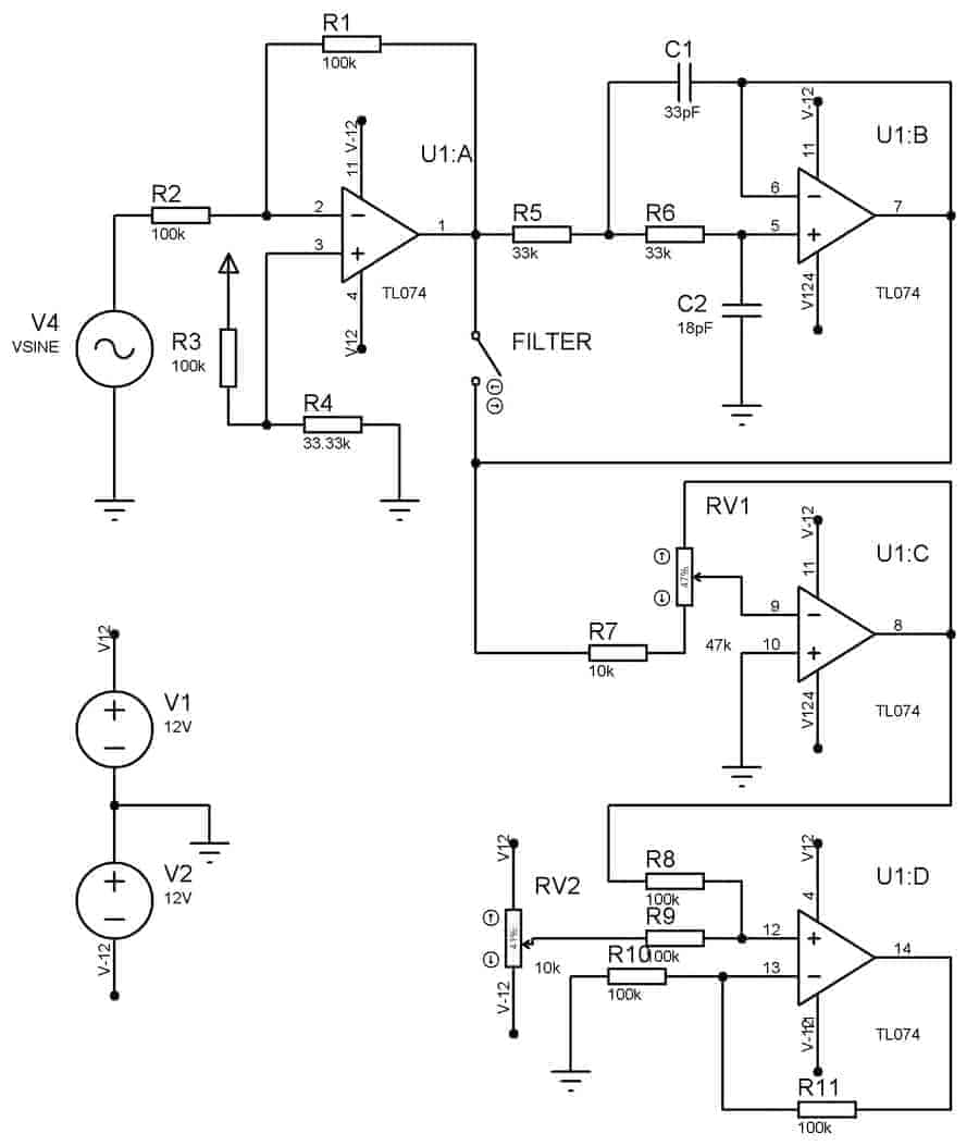 Modeling Of Analog Part For Dds3 Signal Generator Do It Easy Lm358 Op Amp Block Diagram Http Worldtechnicalblogspotcom 2012 01 Here